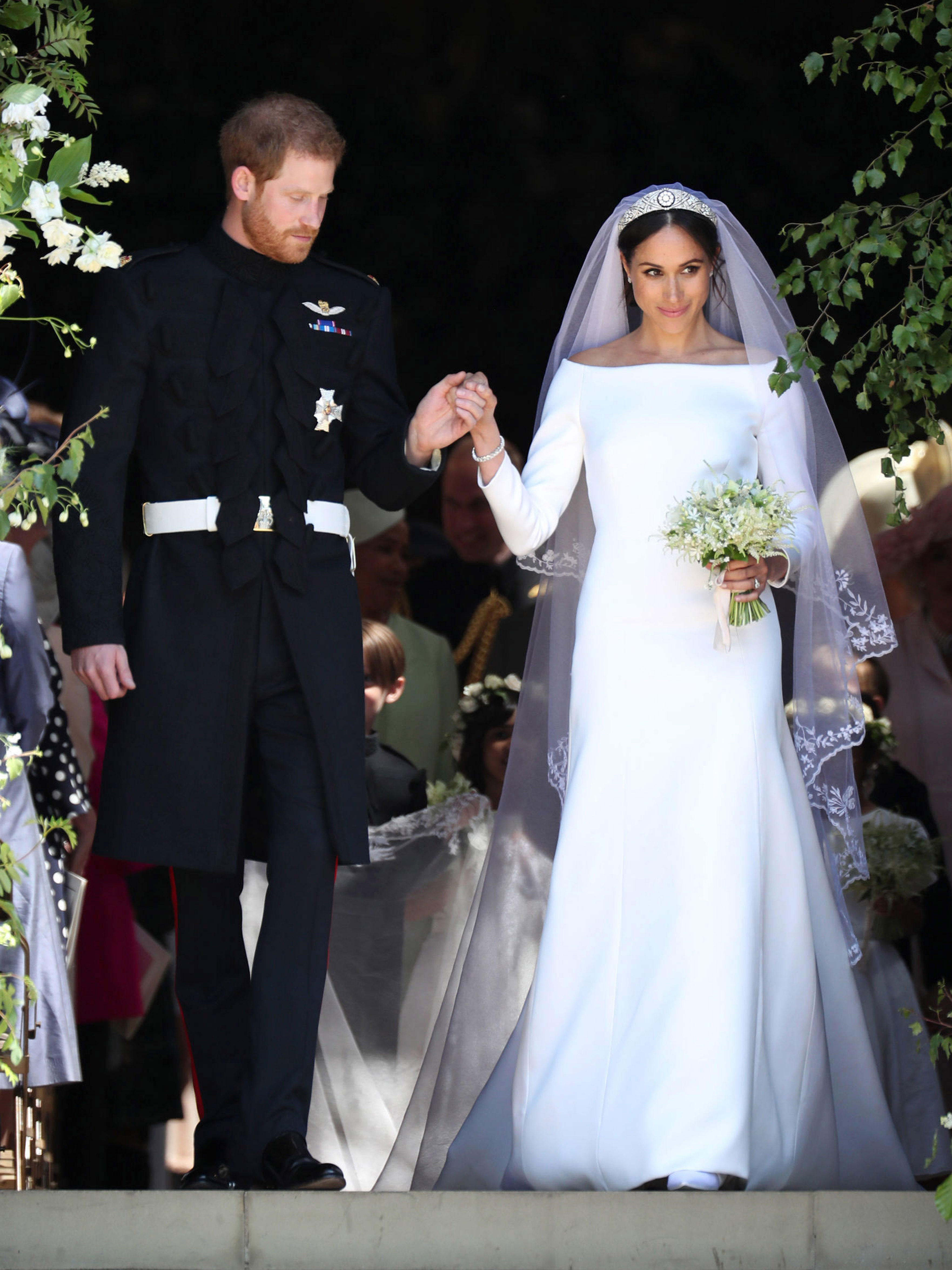Best Celebrity Wedding Dresses: From Meghan Markle To Jackie