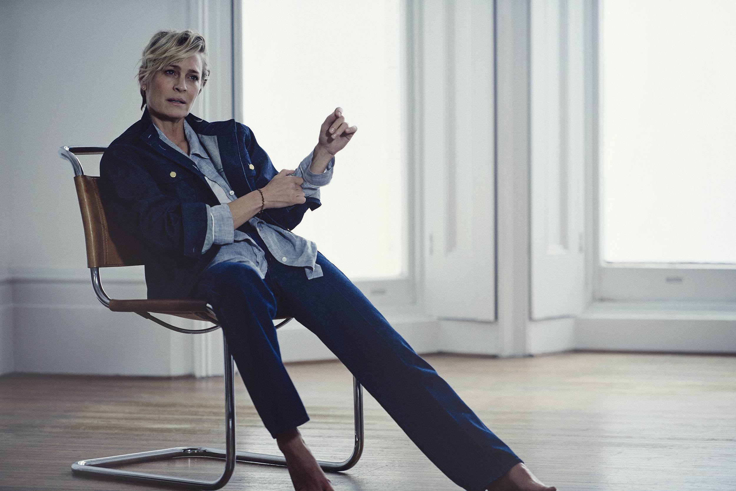 "801b86d0fb2769 Newly Married Actress Robin Wright On House Of Cards' ""Operatic ..."