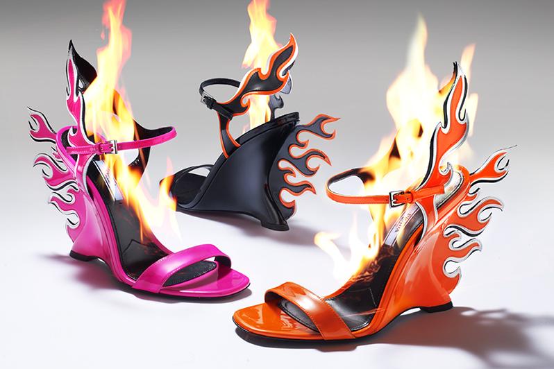4c9729e0267 Prada Flame Wedge Shoes  The Heels Everyone Wants This Season