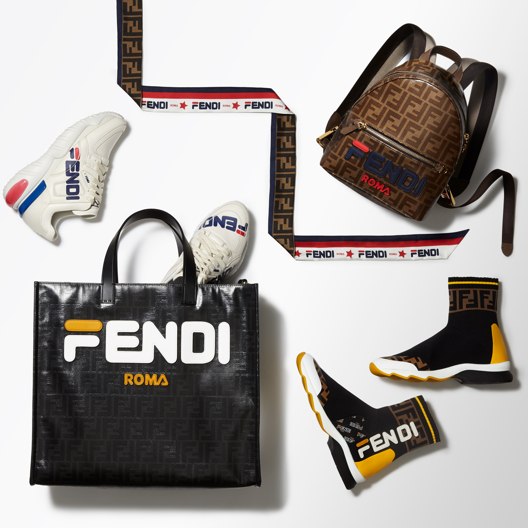 5fc697e711f4 Fila x Fendi Collection  Everything You Need To Know