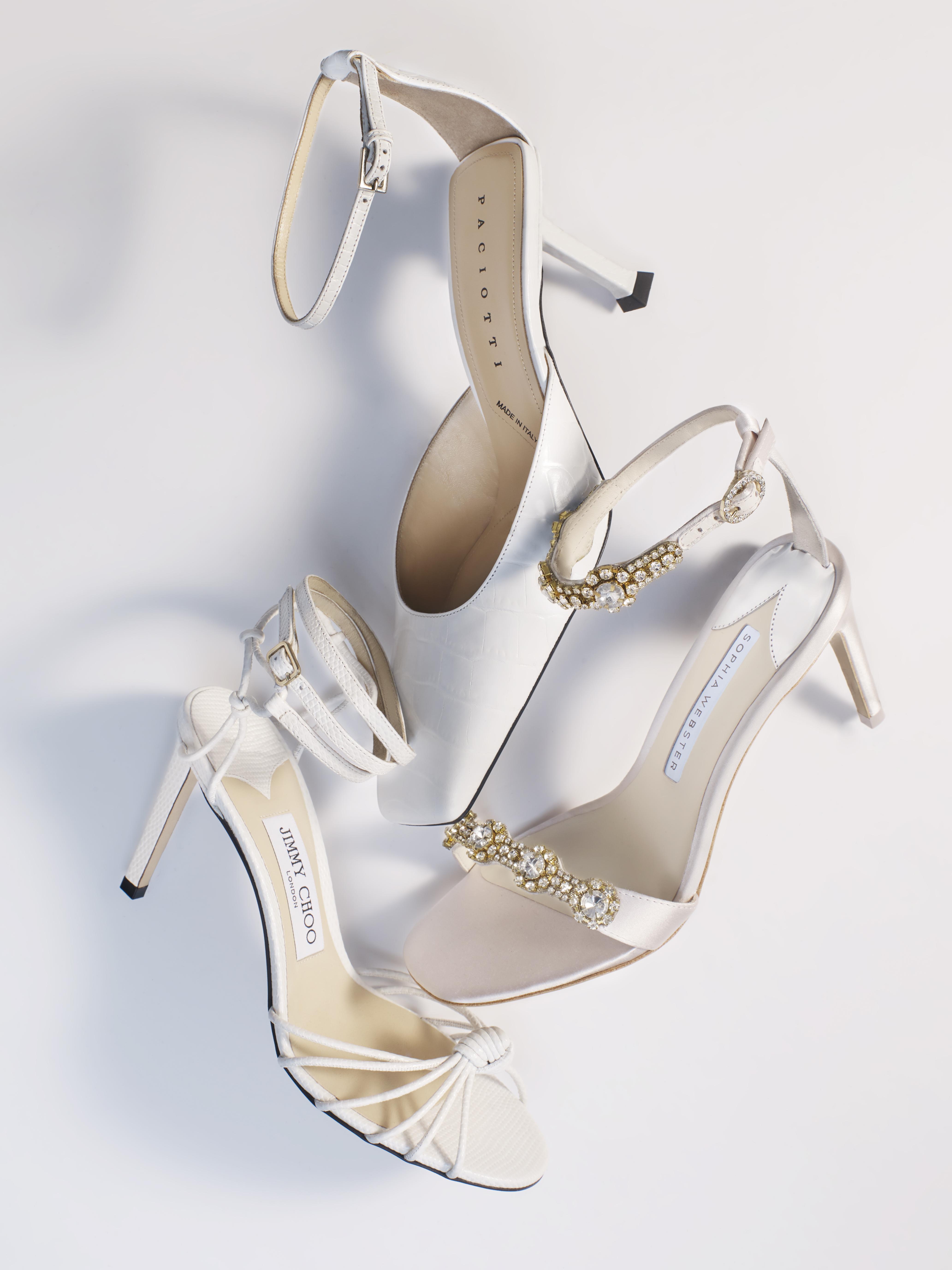 Best Bridal Shoes The Ultimate Designer Wedding Shoes Edit Porter